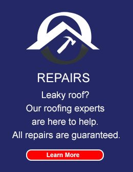 dubo Roofing repairs roofs with guaranteed satisfaction.