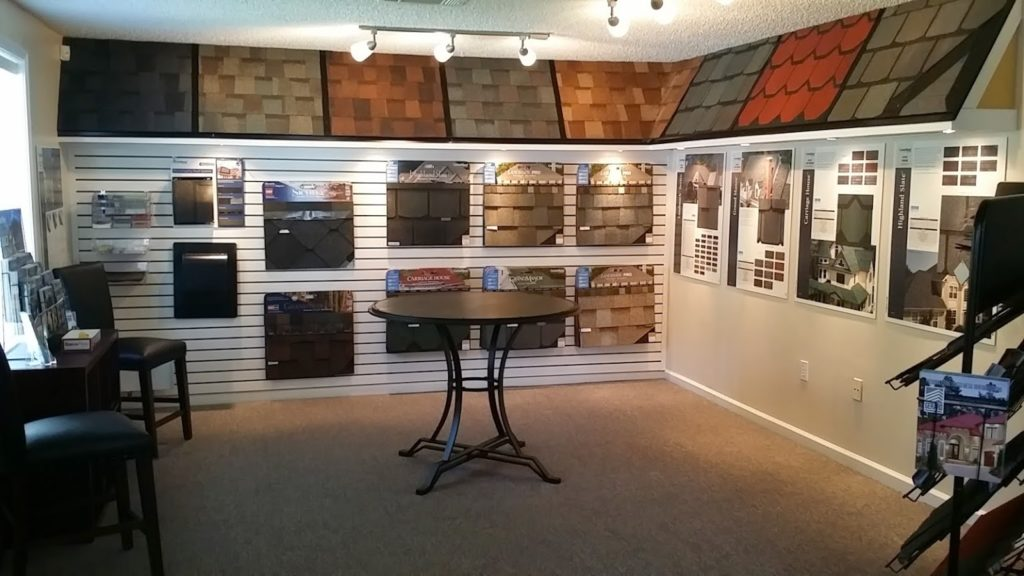 photo of DUBO Roofing showroom
