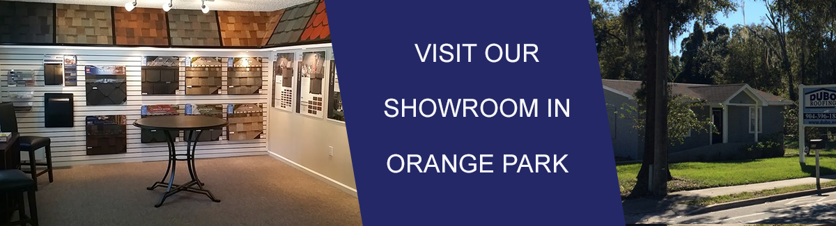 Dubo Roofing Showroom Orange Park