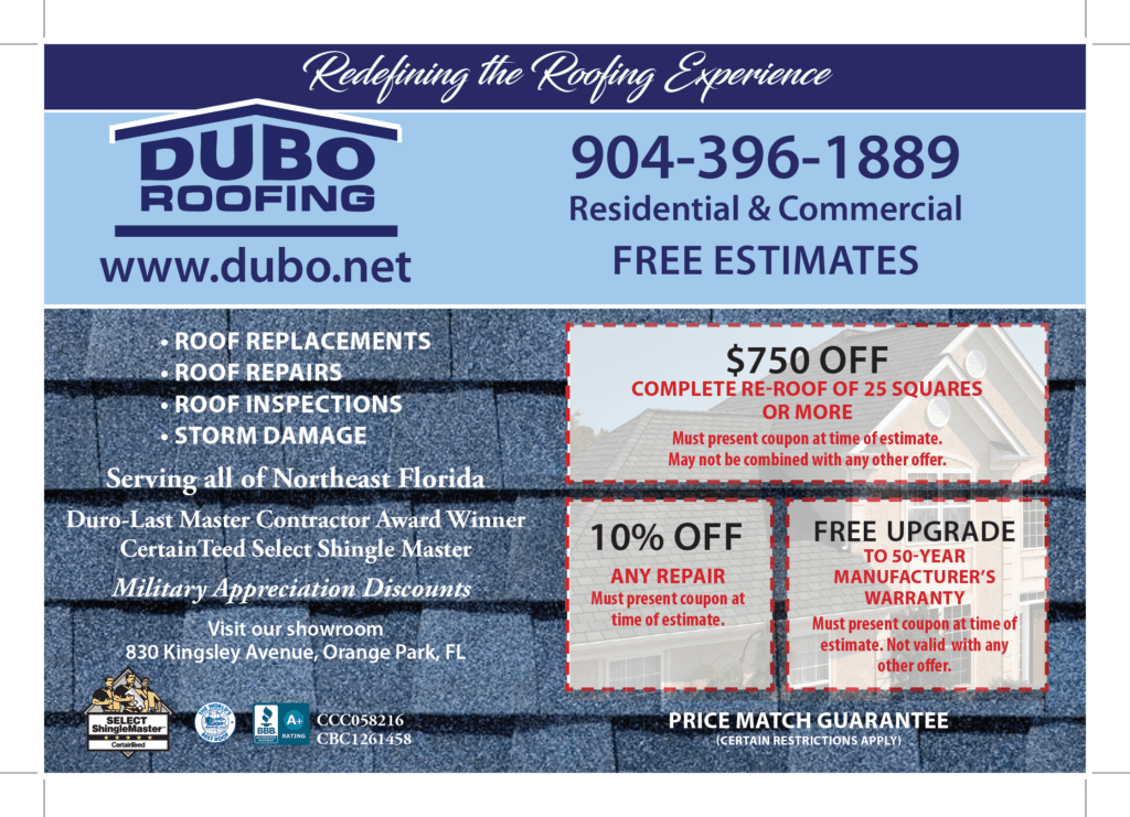 Special Offer Dubo Roofing