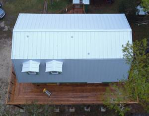 This is a Gulf-Lok Metal roof.
